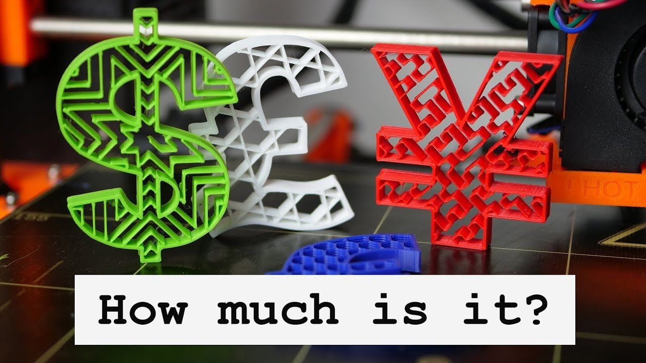 HOW MUCH do 3D printed parts really COST? Create quotes