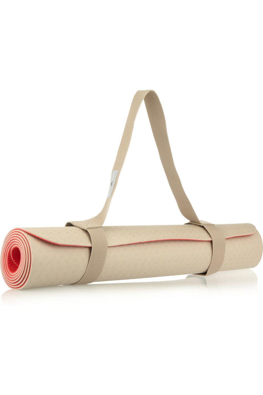 adidas by stella mccartney yoga mat. coral + nude 5c6388d29e39f