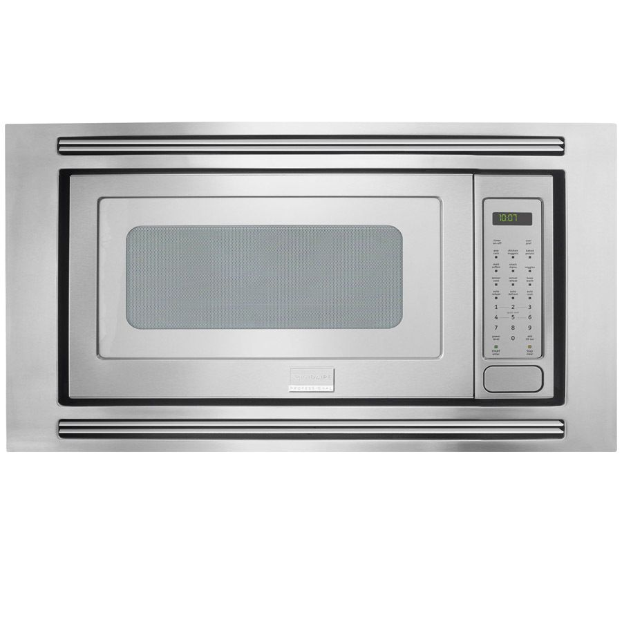 Lowes Countertop Microwaves Shop Frigidaire Professional 2 Cu Ft Built In Microwave Stainless