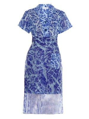 Clarice cracked-print cotton shirtdress | Jonathan Saunders | MATCHESFASHION.COM UK