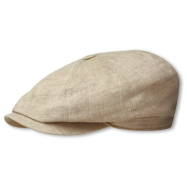 25b8c874a Hatteras Linen Newsboy Cap by Stetson | Mad as a Hatter | Newsboy ...