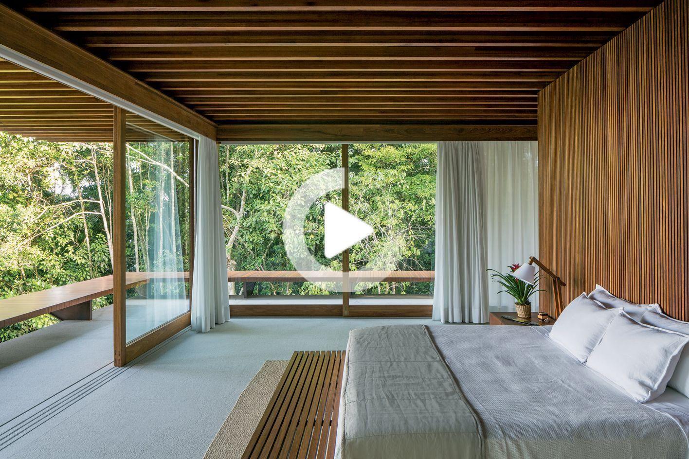 Haut Et Sec Une Maison De Plage Bresilienne Maximise La Vie Interieure Exterieure Maison Maison Moderne Chambres A Coucher Style Cotier
