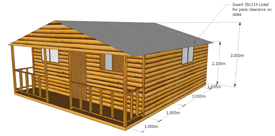 Custom Designs Wendy Houses Pretoria And Cape Town 012 670 9068 Wendy House Nutec Houses Log Homes