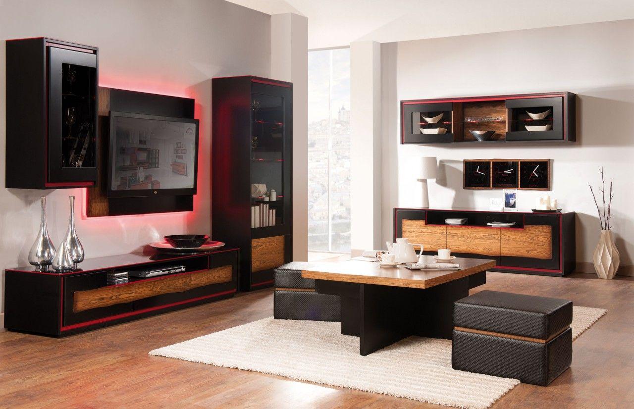 Meuble Tv Living Salon flanso 2 - salon meuble tv | modern tv wall units, modern