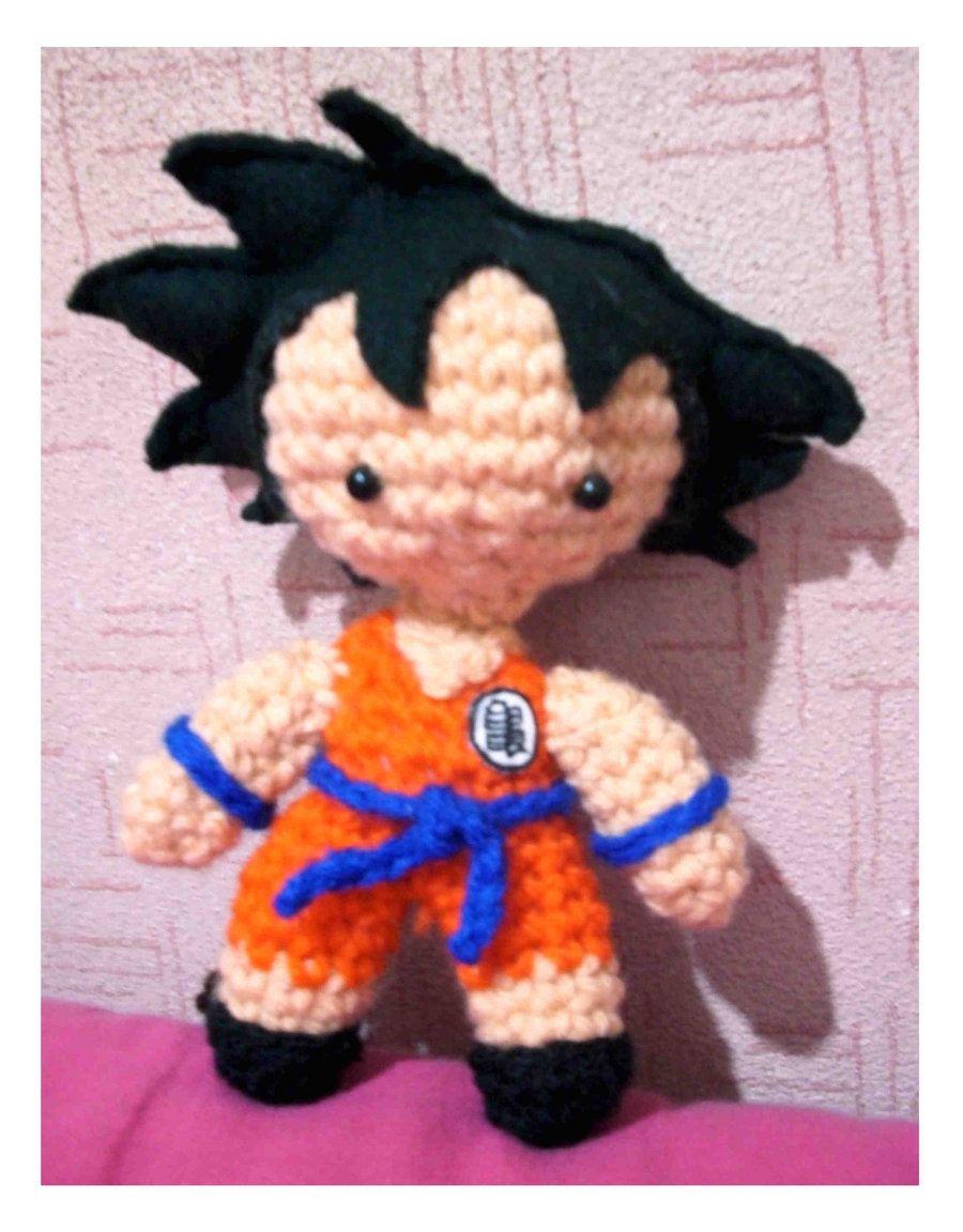 Chibi Goku amigurumi by xragdollqueen.deviantart.com on @deviantART ...