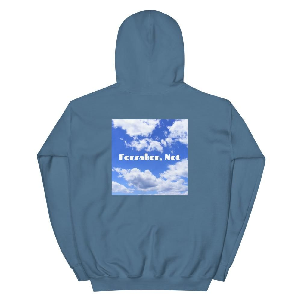 (For All) Chill Vibes Only Double-sided Hoodie - Indigo Blue / 2XL
