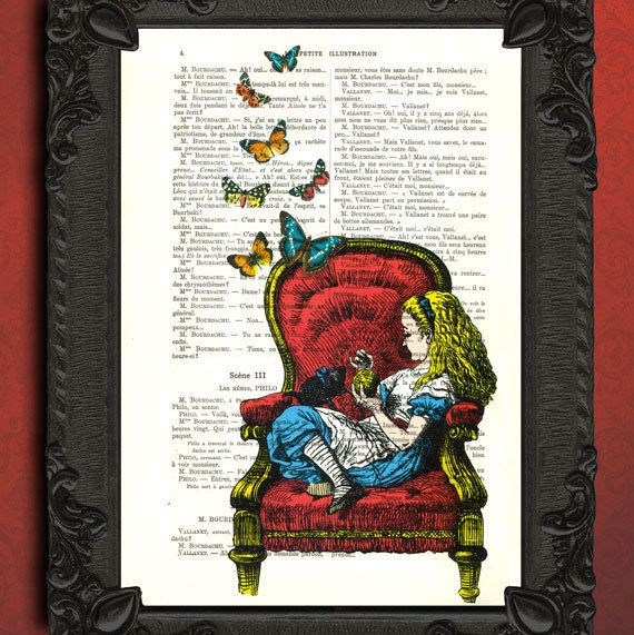 Alice In Wonderland Art Alice In Wonderland Illustration