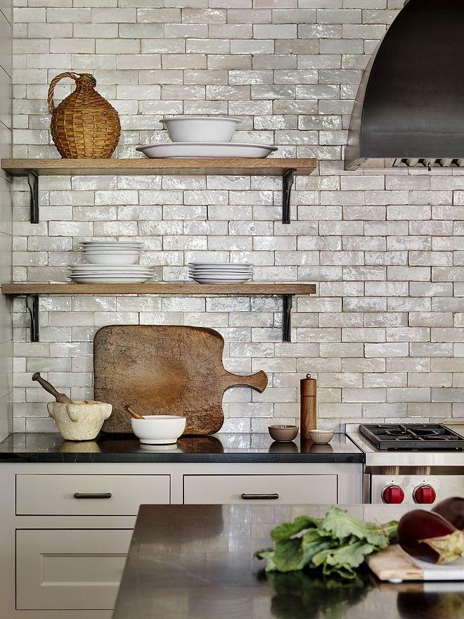 Kitchen Backsplash Is A Mosh Tile From Renaissance Tile In Atlanta And Is A 2 X 6 Lake House Kitchen Rustic Kitchen Kitchen Decor Inspiration