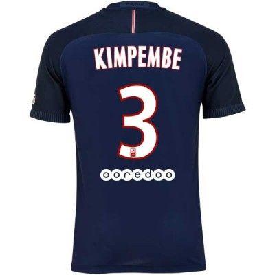 Paris Saint Germain PSG 16-17 Presnel Kimpembe 3 Hjemmebanetrøje Kortærmet.  http://www.fodboldsports.com/paris-saint-germain-psg-16-17-presnel-kimpembe-3-hjemmebanetroje-kortermet.  #fodboldtrøjer