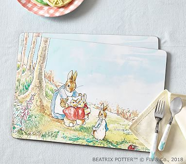 Beatrix Potter Cork Placemat Beatrix Potter Ceramic