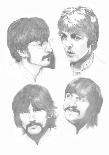 All Beatles Beatles Drawing Beatles Art Beatles Artwork