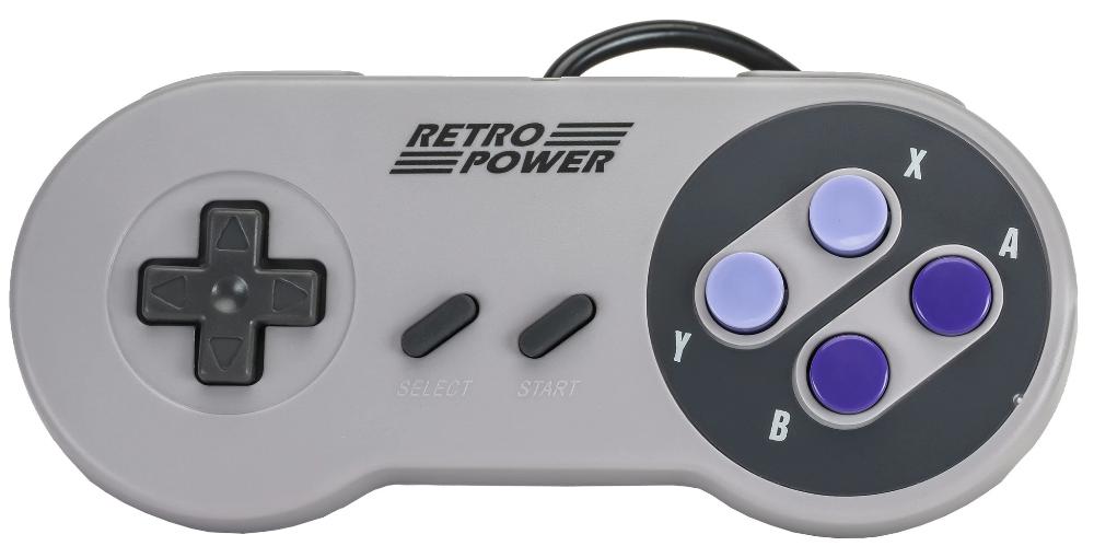 Retro Power Snes Usb Controller Controle