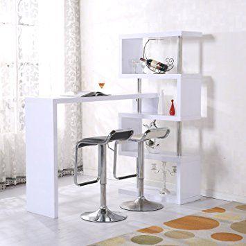 kleine zimmerrenovierung dekor gros kucheninsel, homcom high gross storage shelf bar counter divider lounge desk, Innenarchitektur