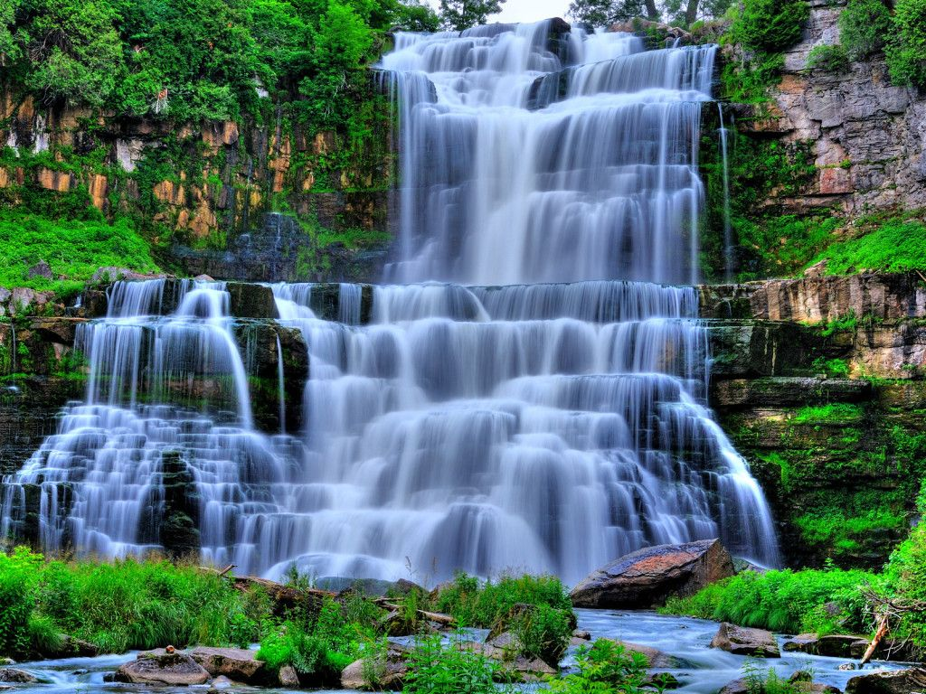 Waterfall Pictures Waterfall Wallpaper Download Nature Hidden Waterfall Background Waterfall Scenery Waterfall Wallpaper Beautiful Waterfalls