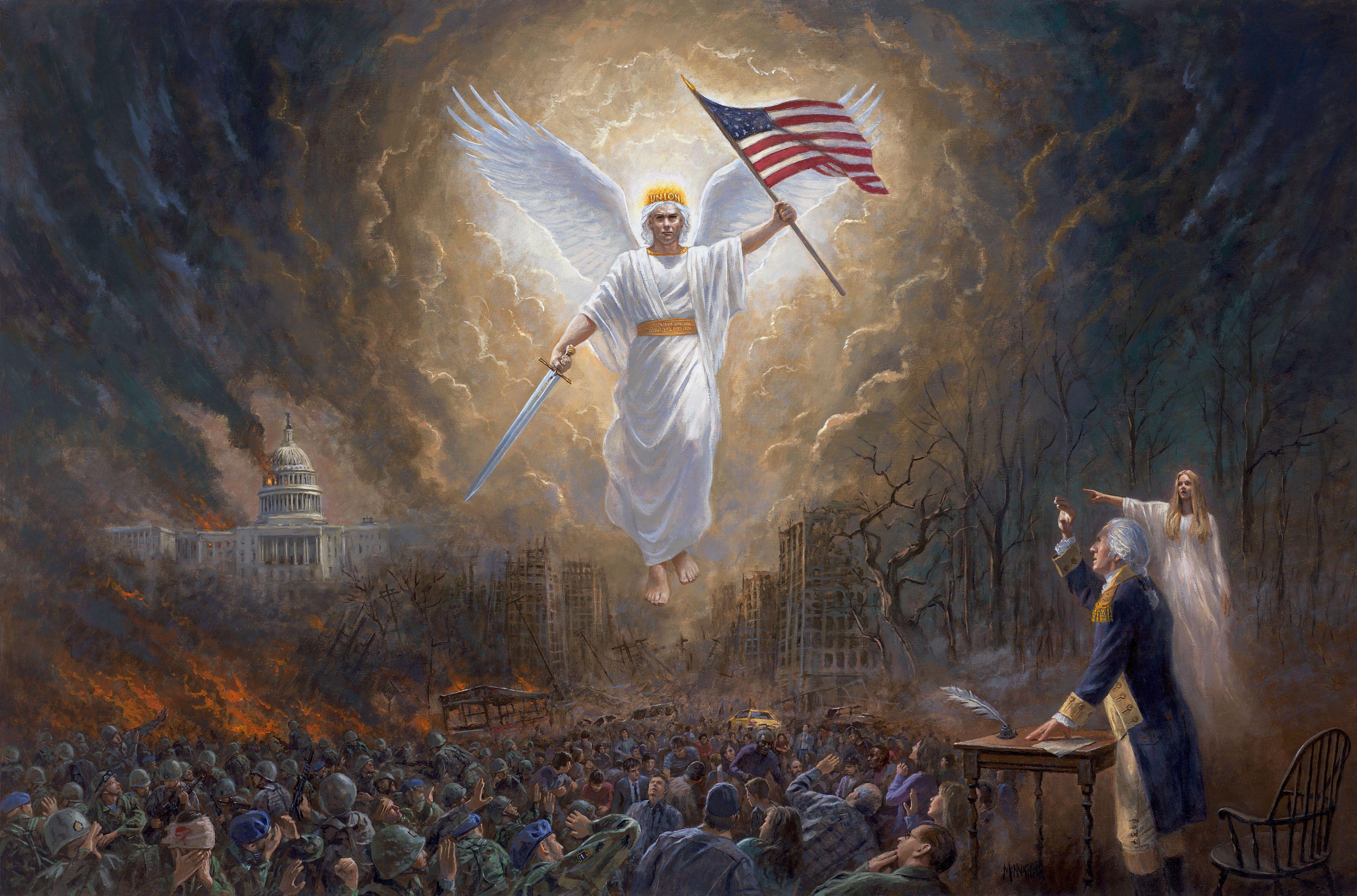 Nation Under God Painting Mcnaughton - Yahoo