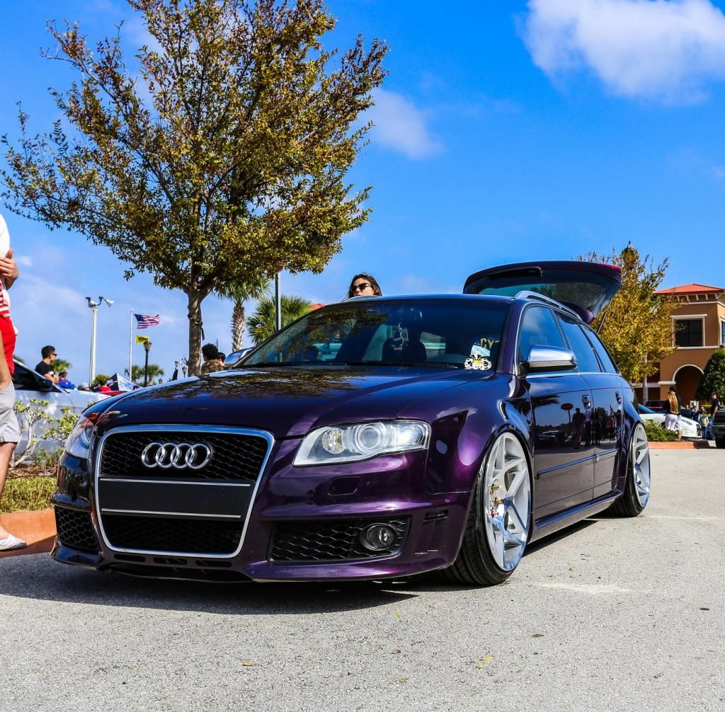Audi RS4 Avant Conversion // Merlin Purple B7