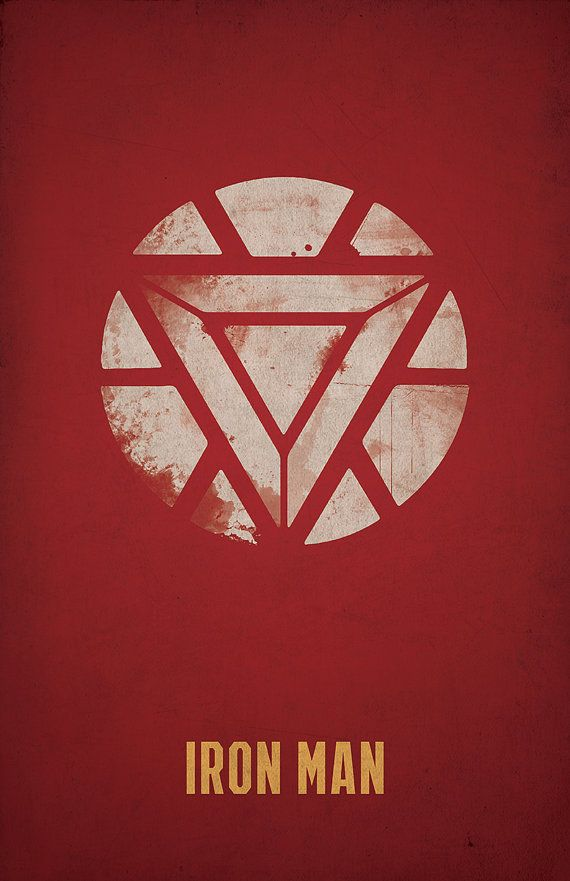 Iron Man Poster Arc Reactor By WestGraphics On Etsy