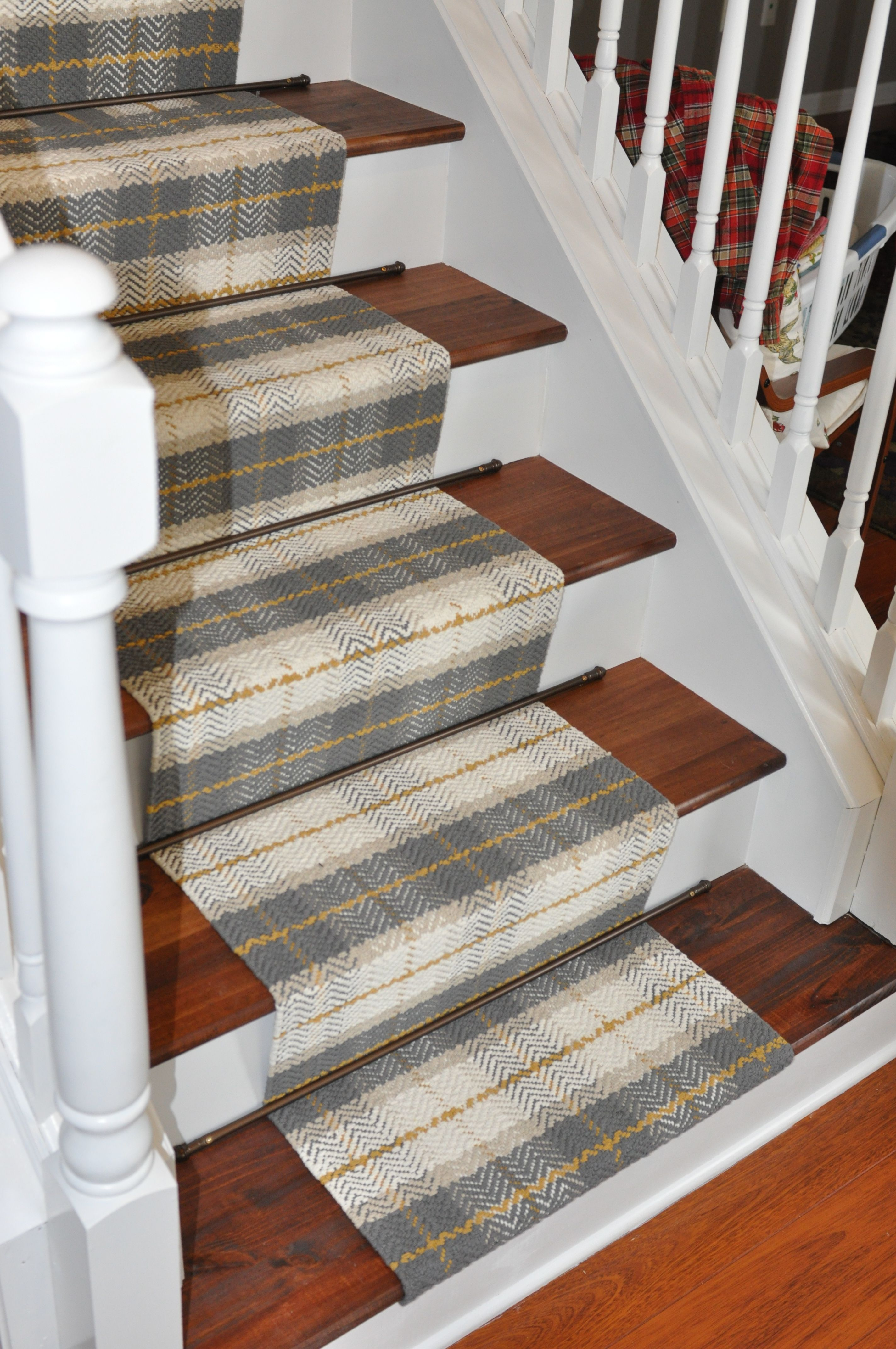 inexpensive stair runner target runners 3x 30 sewn together and rh pinterest com