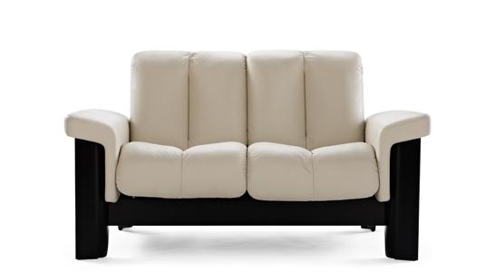 Stressless Wizard Loveseat Medium Lowback Modern Recliner Sofa Modern Recliner Local Furniture Stores