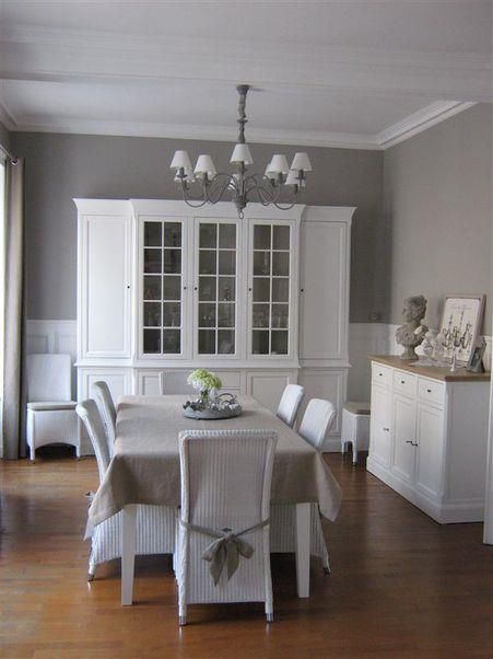 Very romantic classic style dining room salle manger for Salle a manger shabby