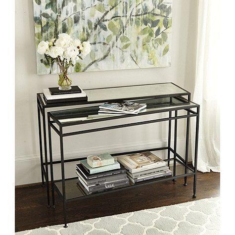 Best Anduze Nesting Consoles Set Of 2 Home Decor Entryway 400 x 300