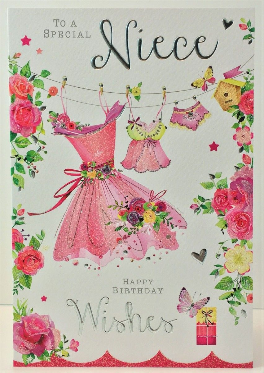 Jonny Javelin Niece Birthday Card Female Birthday Pinterest