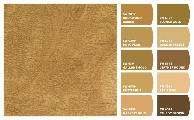 Caramel Tones Hues Color Palette Inspiration Chip It By