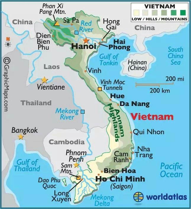 graphic about Printable Map of Southeast Asia known as Pin via Balasingam Velu upon Asia Vietnam map, Vietnam, Cambodia