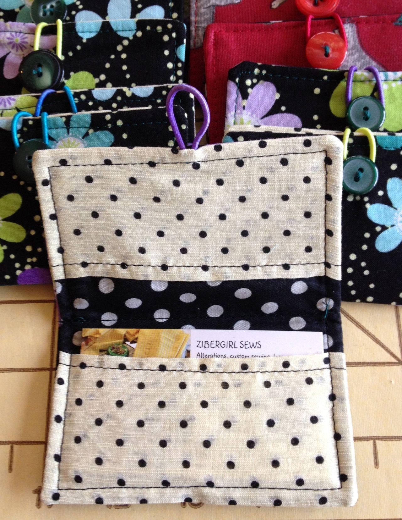 Cute card holder tutorial card holder diy sewing gifts