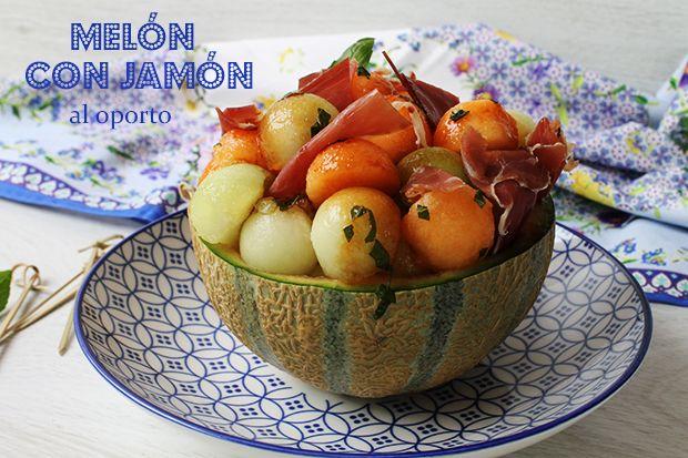 MELÓN CON JAMÓN AL OPORTO