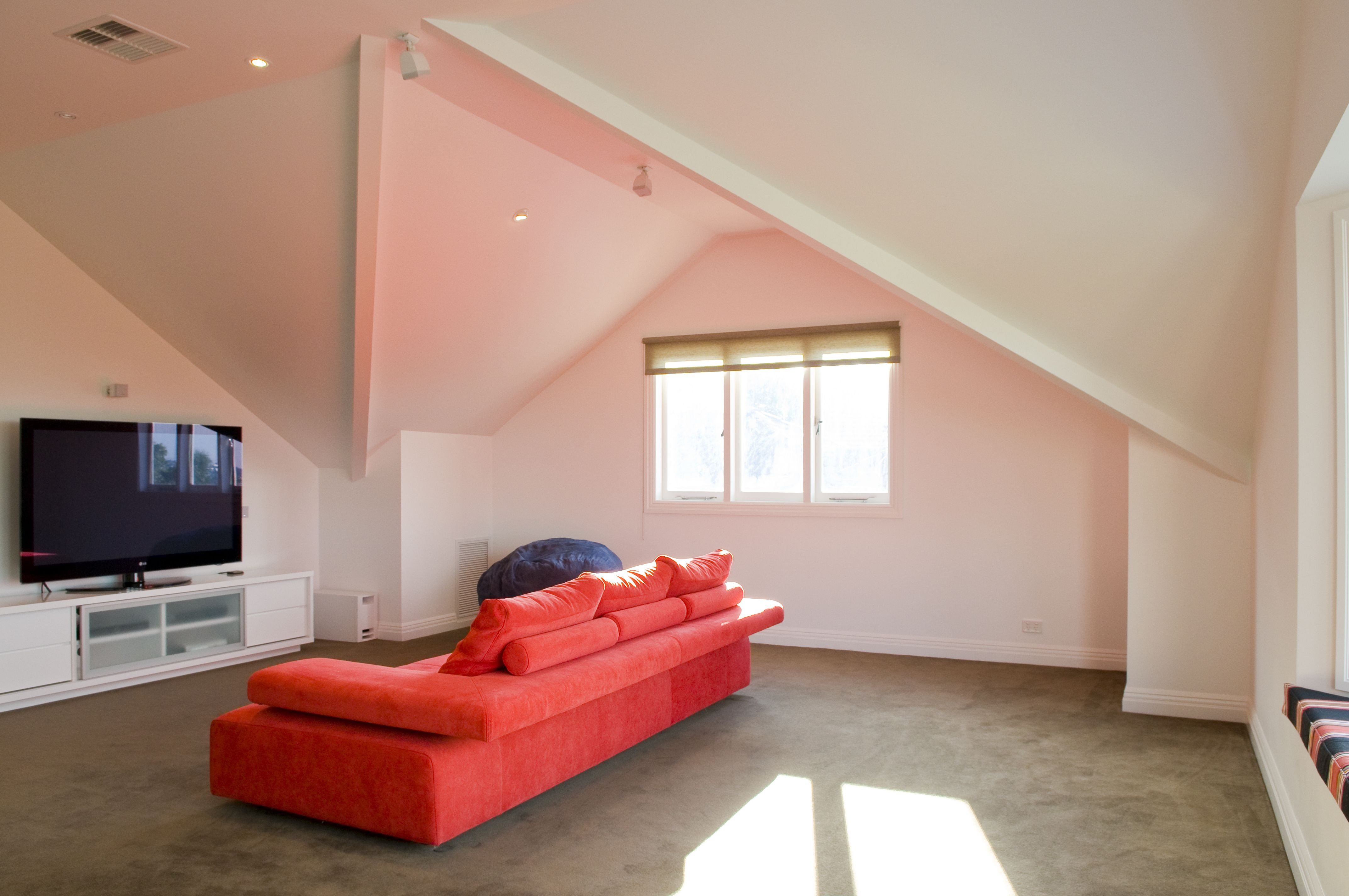 Loft bedroom regulations  Amazing Attic conversion into a seperate living area at a home in