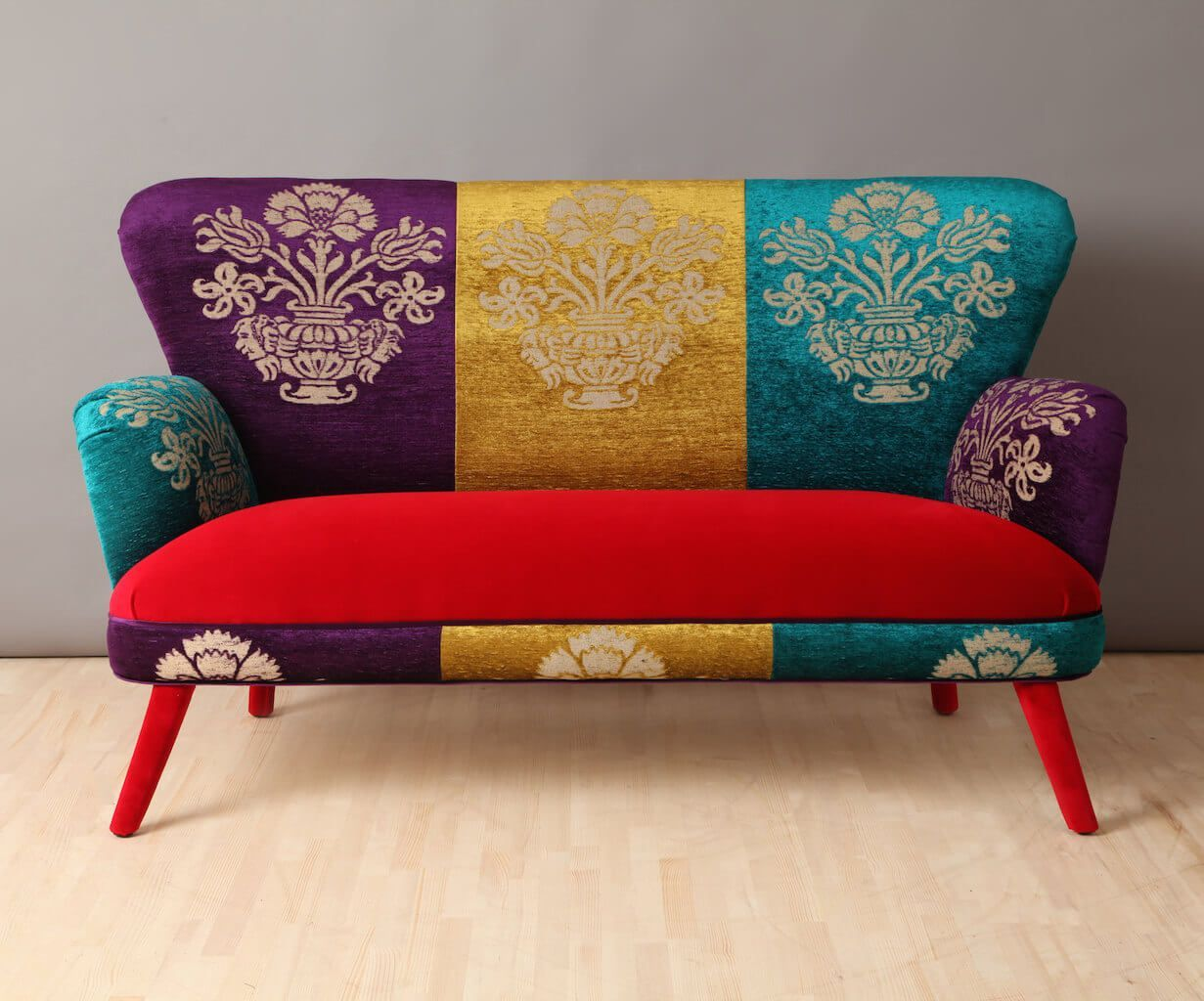 New Home Decor Trends For 2018 Colorful Couch Trending Decor
