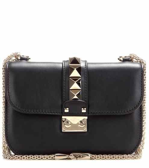 Lock Small leather shoulder bag | Valentino