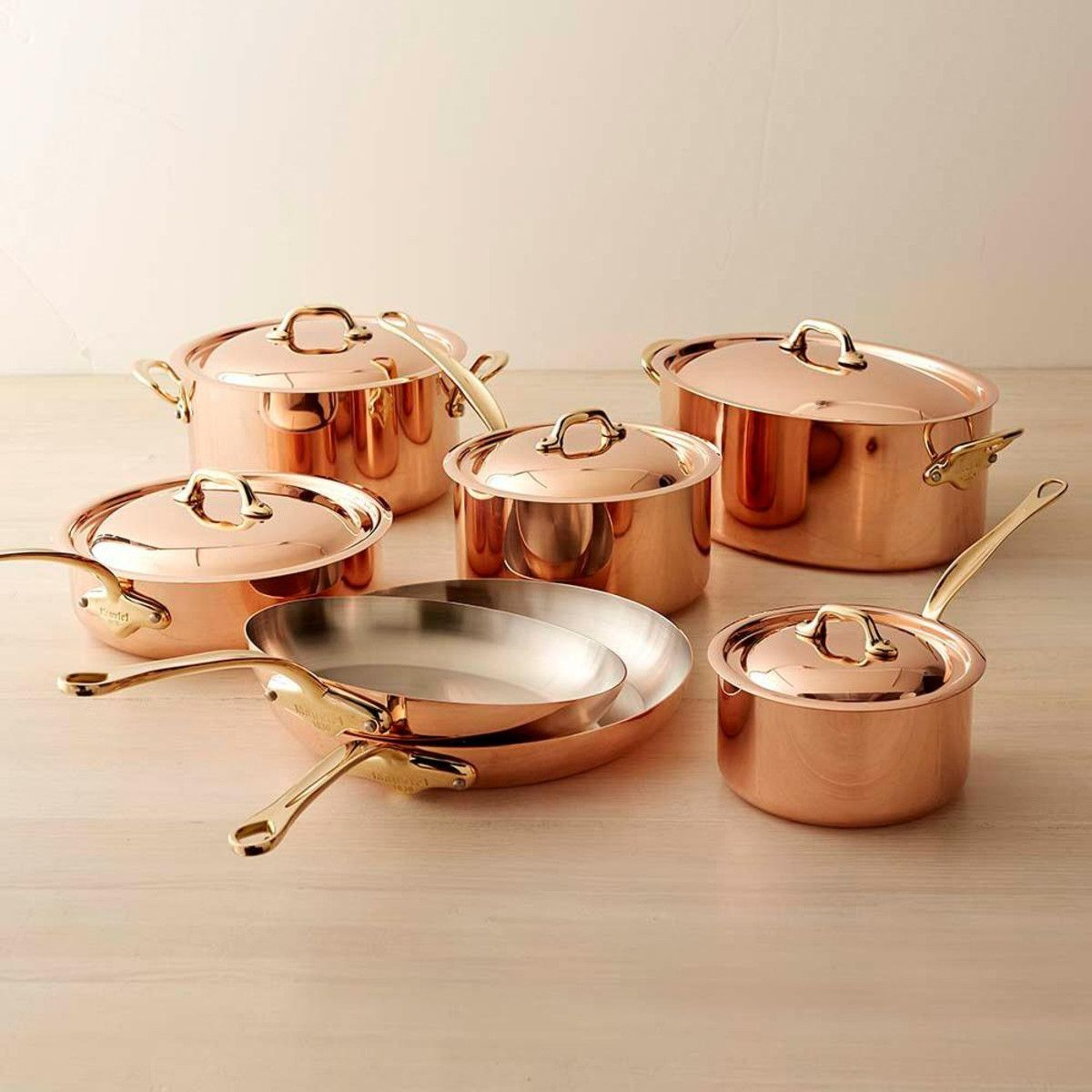 Mauviel copper piece cookware set williams sonoma au i want