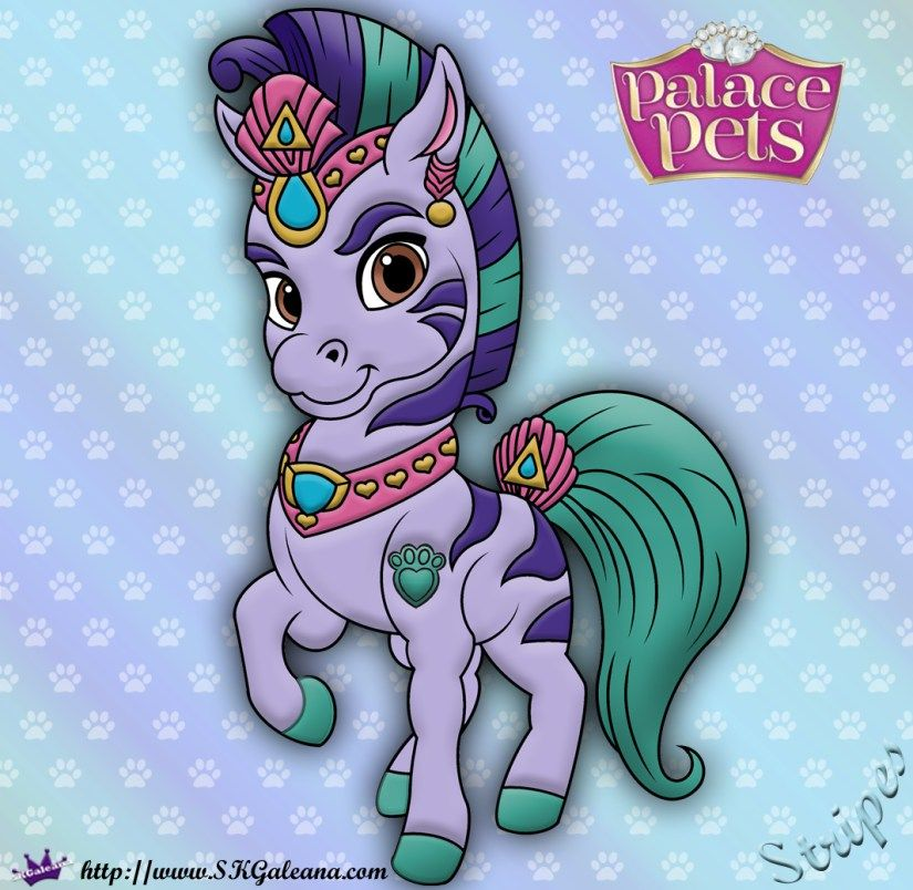 Princess Palace Pets Coloring Page Of Stripes Princess Palace Pets Disney Princess Palace Pets Palace Pets