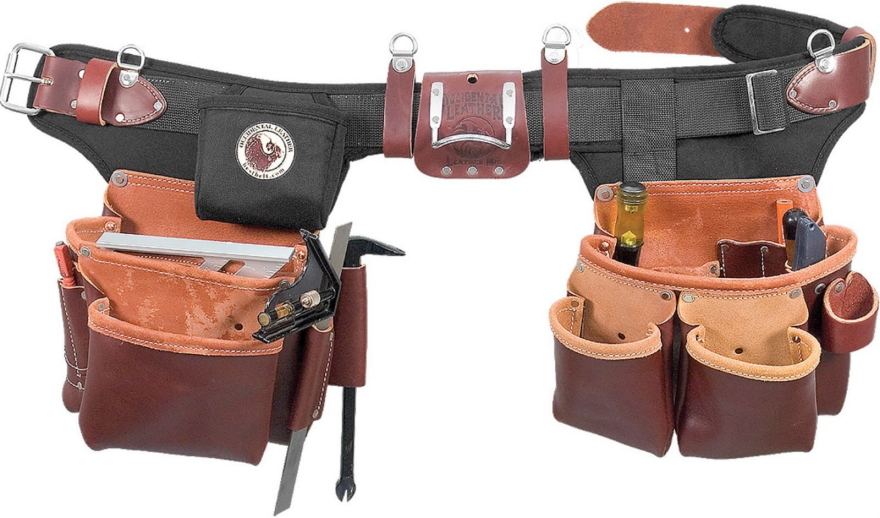 Factory Tour How Occidental Leather Makes The Best Tool Belts Money Can Buy Best Tool Belt Tool Belts Occidental Leather