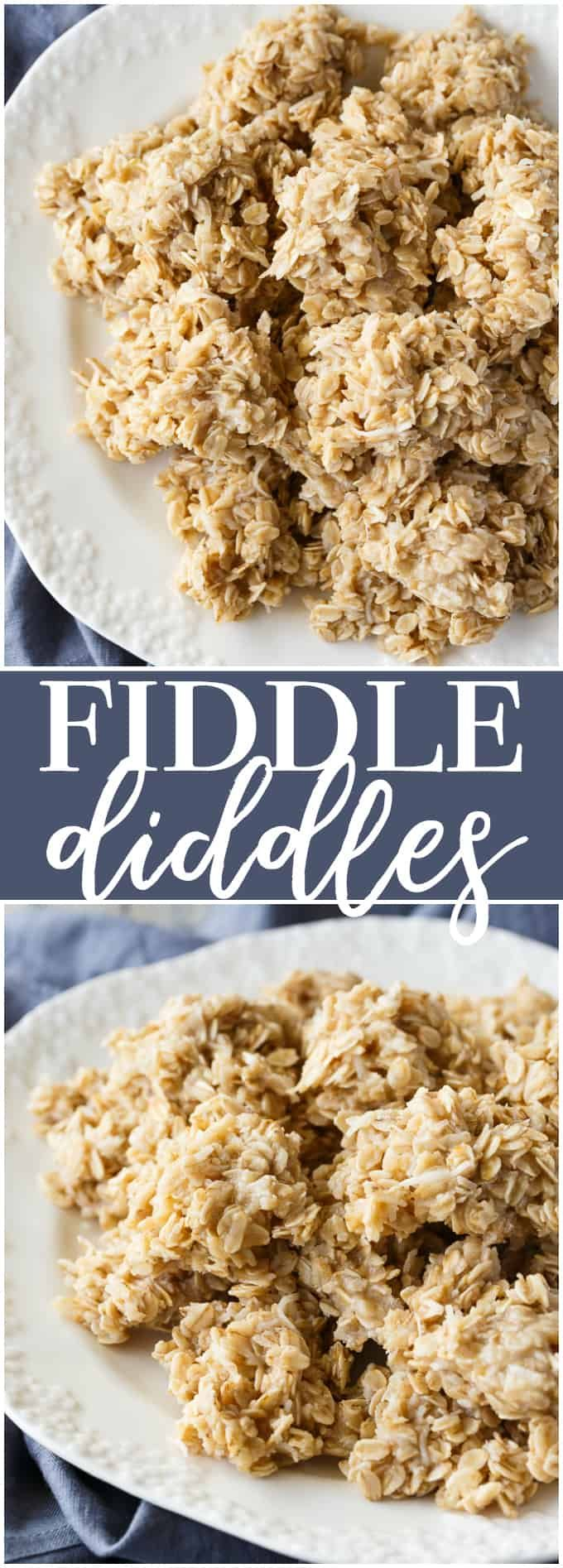 Fiddle Diddles - A no-bake cookie that is always a hit! Easy to make and deliciously sweet to eat.