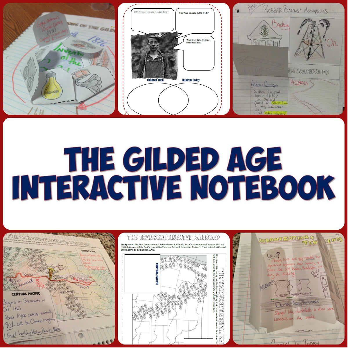 This Download Features 11 Interactive Notebook Pages On