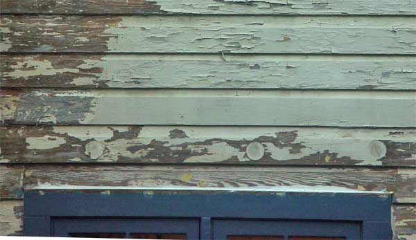 Painting And Stripping Old Wood Siding Overview