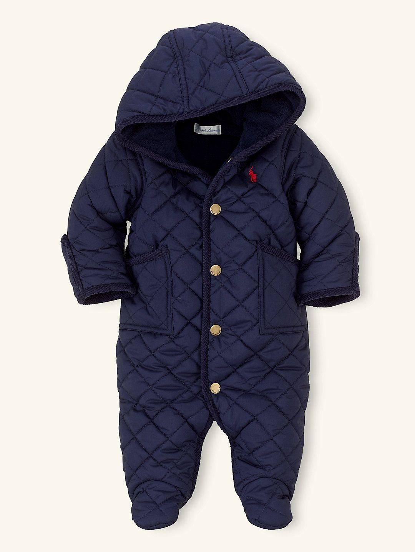 d7bf38f99 Solid Barn Bunting - Outerwear Layette Girl (Newborn–9M) - RalphLauren.com