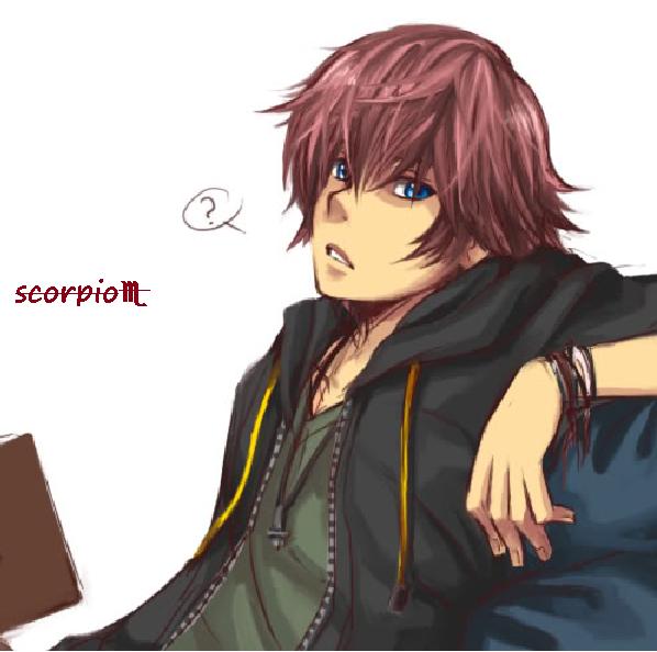 Scorpio male. in 2019 Anime zodiac, Anime, Scorpio men