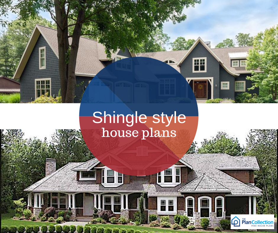 Shingle Style Home Plans Are Covered In Wooden Shingles On The Entirety Of The Exterior As Their Small Nantucket Style Homes Shingle Style Nantucket Style