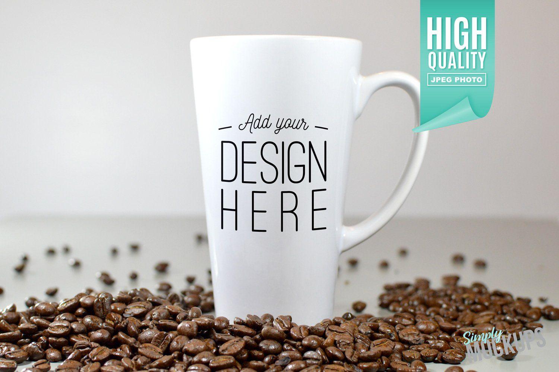 17oz Latte Mug Mockup 1 Sided Mockup free psd, Free