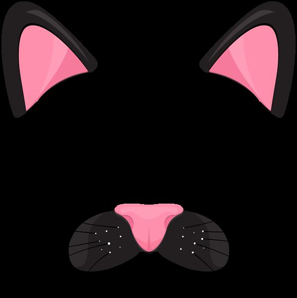 Cat Black Face Mask Png Clip Art Image Cat Face Drawing Cats Funny Cat Faces