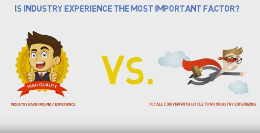 Experience Or Drive Which Is More Important To Sales Success