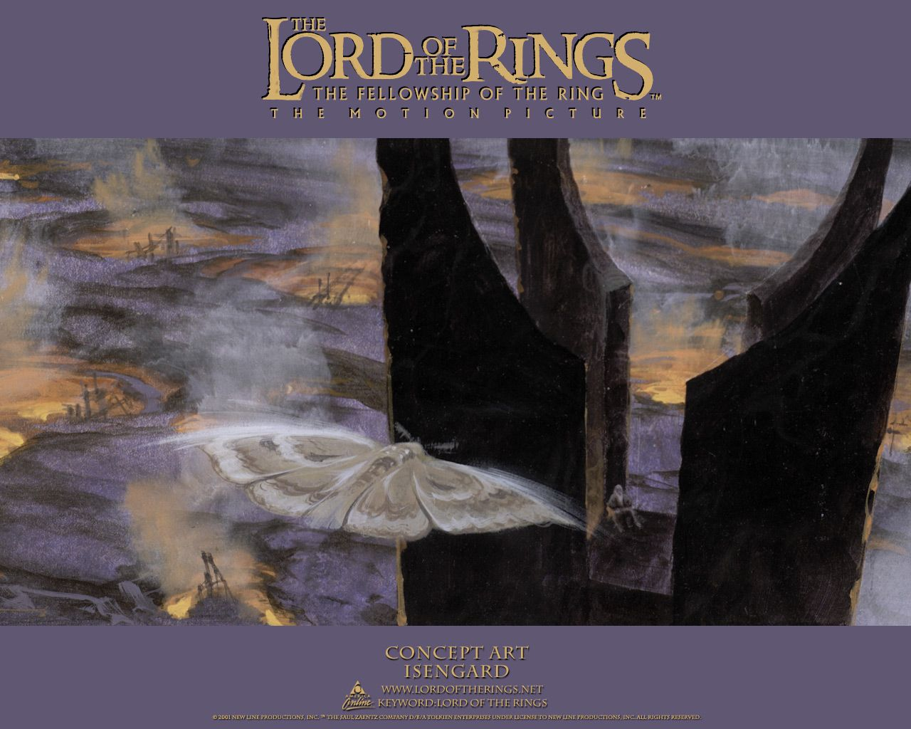 The Lord Of The Rings Concept Art Isengard Tolkien Love