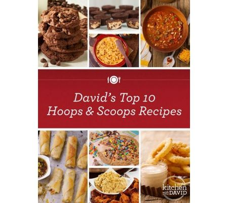 hoops and scoops! top 10 game-day recipes by david venable
