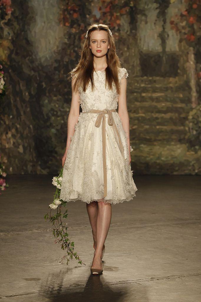 Ungewöhnlich Jenny Packham Vintage Hochzeitskleid Zeitgenössisch ...