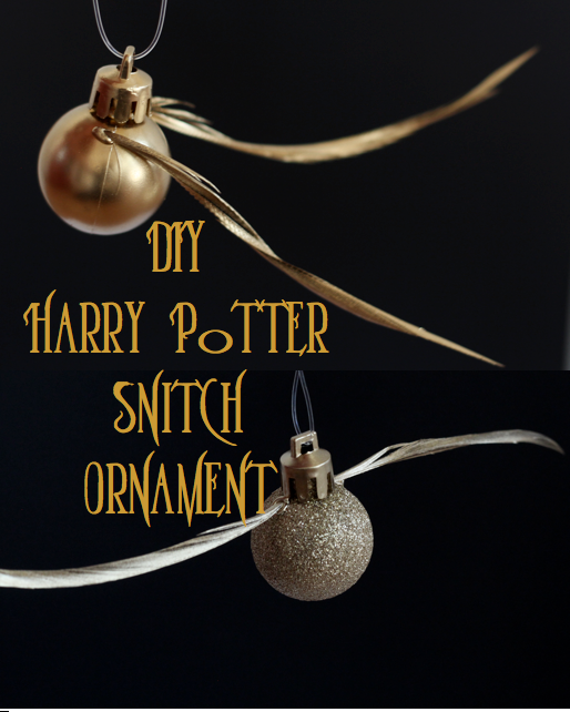 Do it yourself divas make your own snith ornament winter do it yourself divas diy harry potter snitch ornament i don even put up a christmas tree but this is still pretty sweet solutioingenieria Choice Image