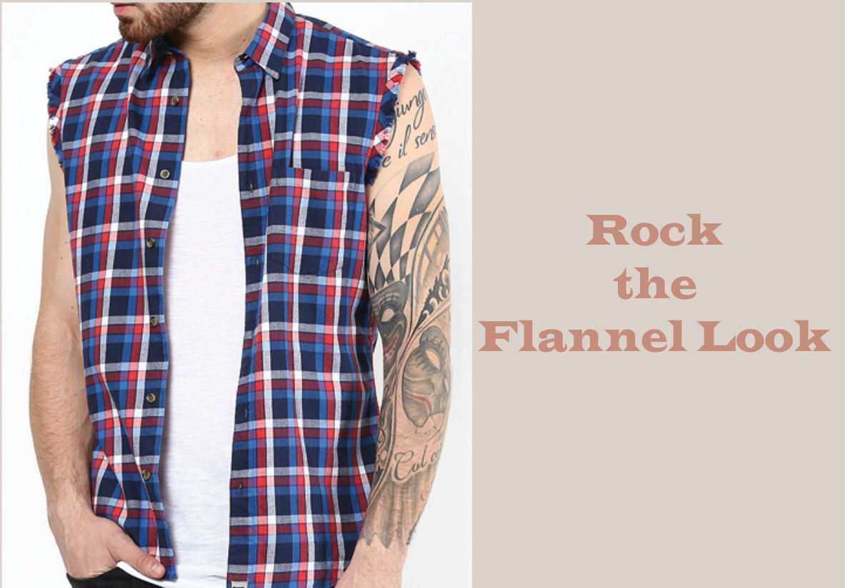 Flannel outfit ideas men   Tips for Men to Rock the Flannel Look This Summer  Pinterest
